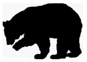 Our Bear Silhouette