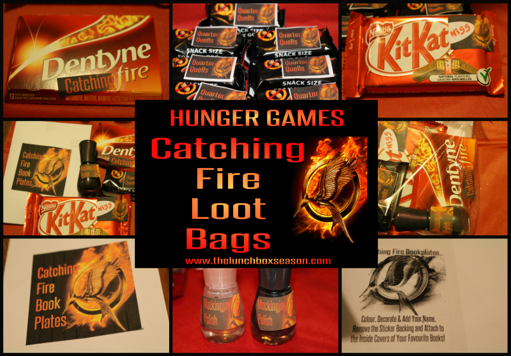 Hunger Games Catching Fire Loot Bags The Lunchbox Season