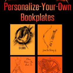 Hunger Games Catching Fire Party Favours Personalize Your Own Bookplates