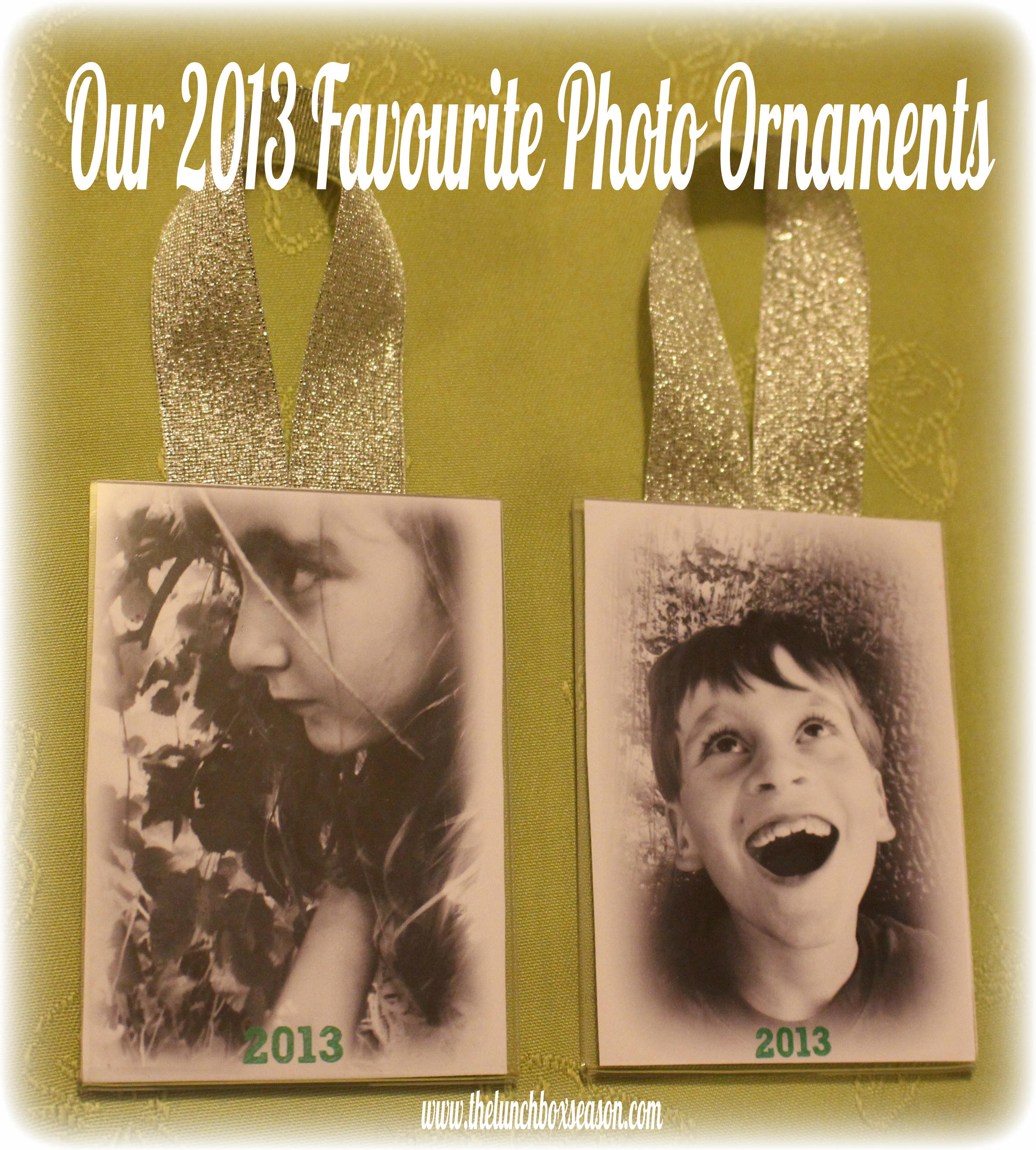 Our Finished Favourite Photo Ornaments