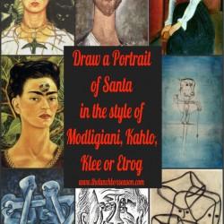 Draw Santa
