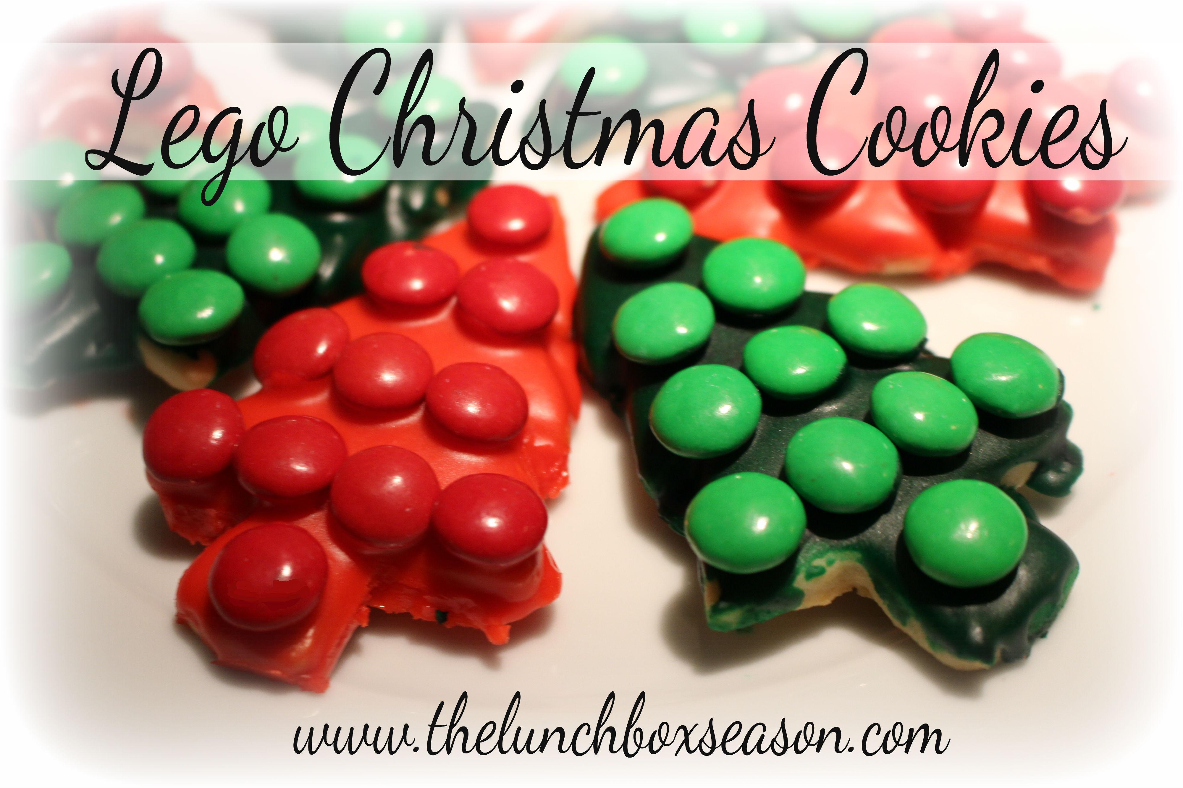 Lego Christmas Cookies