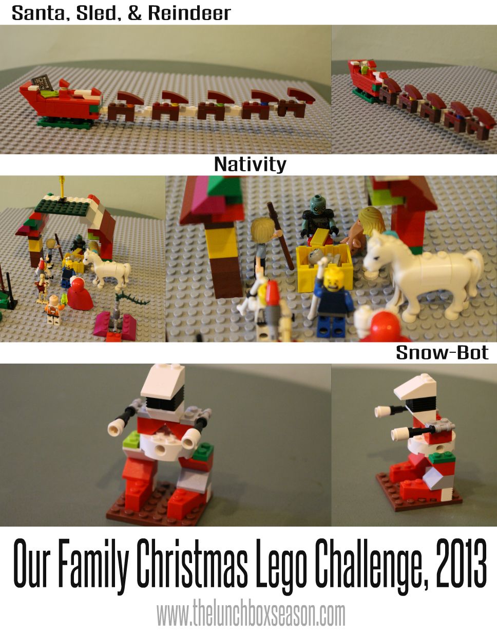 Some of the Results of our lego christmas challenge