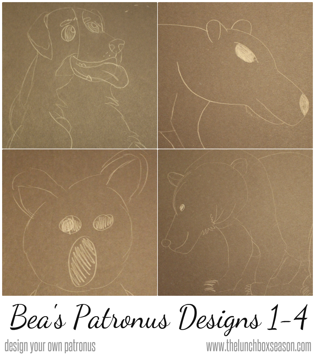 bea's patronus Designs