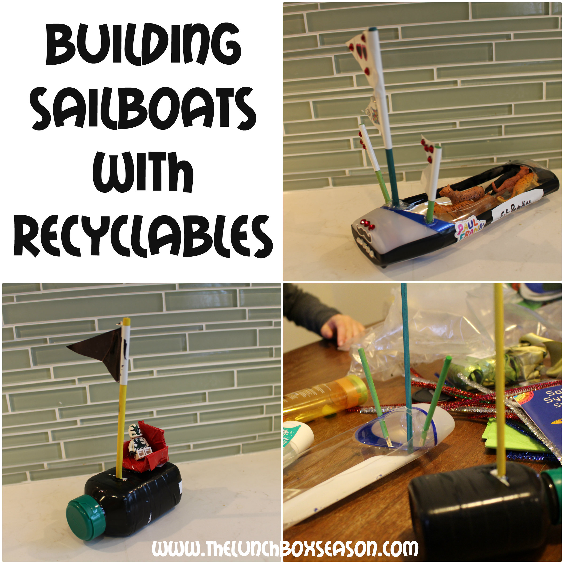 Building Sailboats with Recyclables