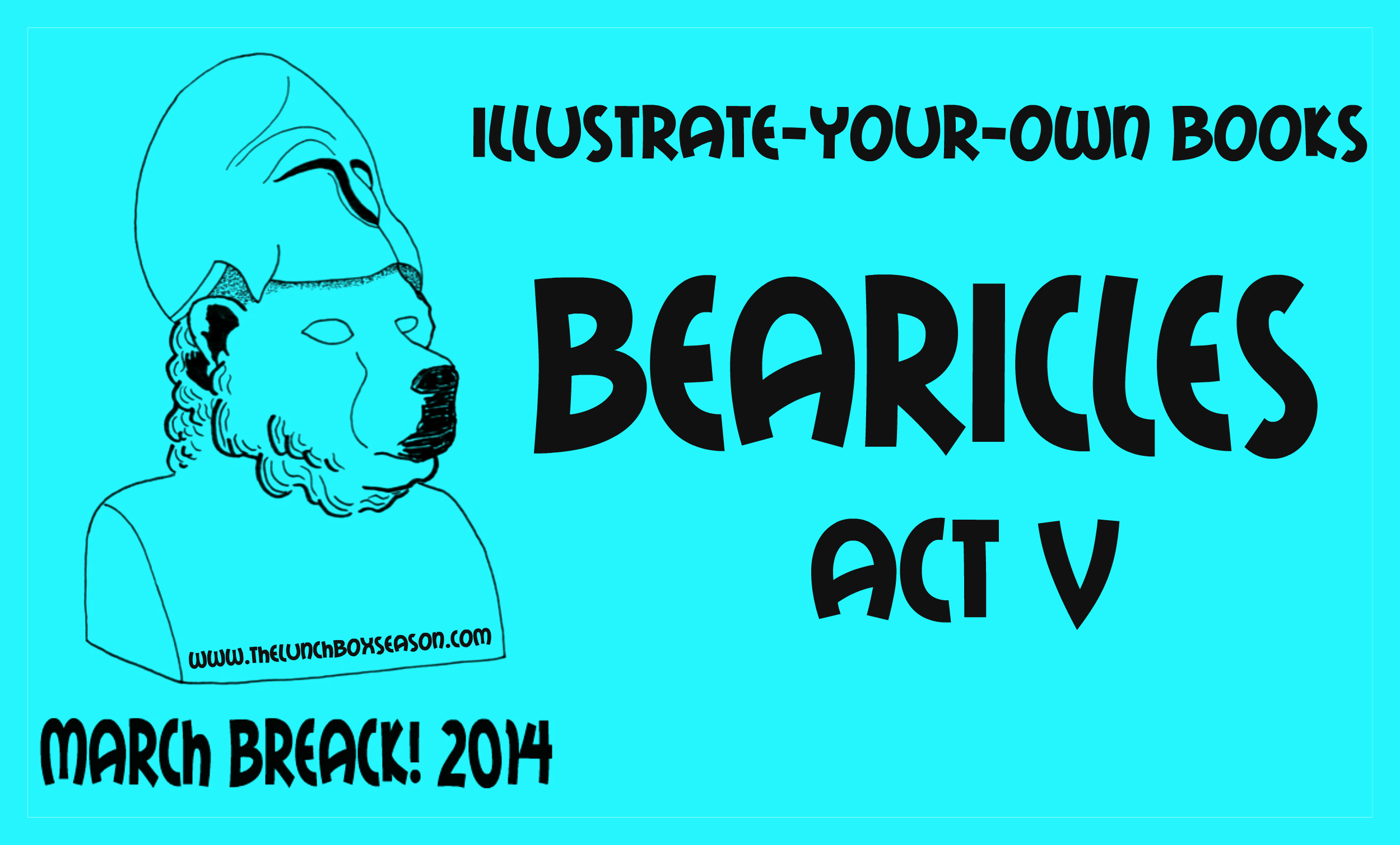 Illustrate your own books bearicles act v
