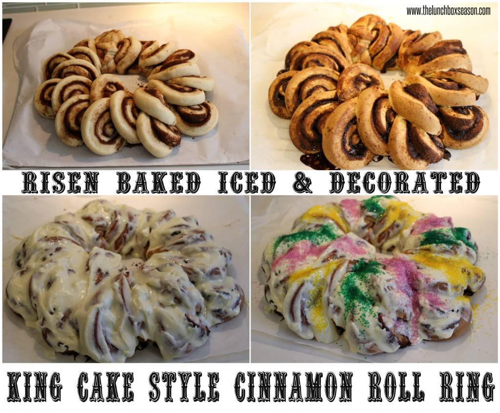 Risen Baked Iced & Decorated