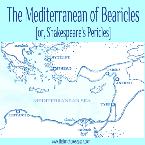 The Mediterranean of Bearicles or Shakespeare's Pericles Prince of Tyre