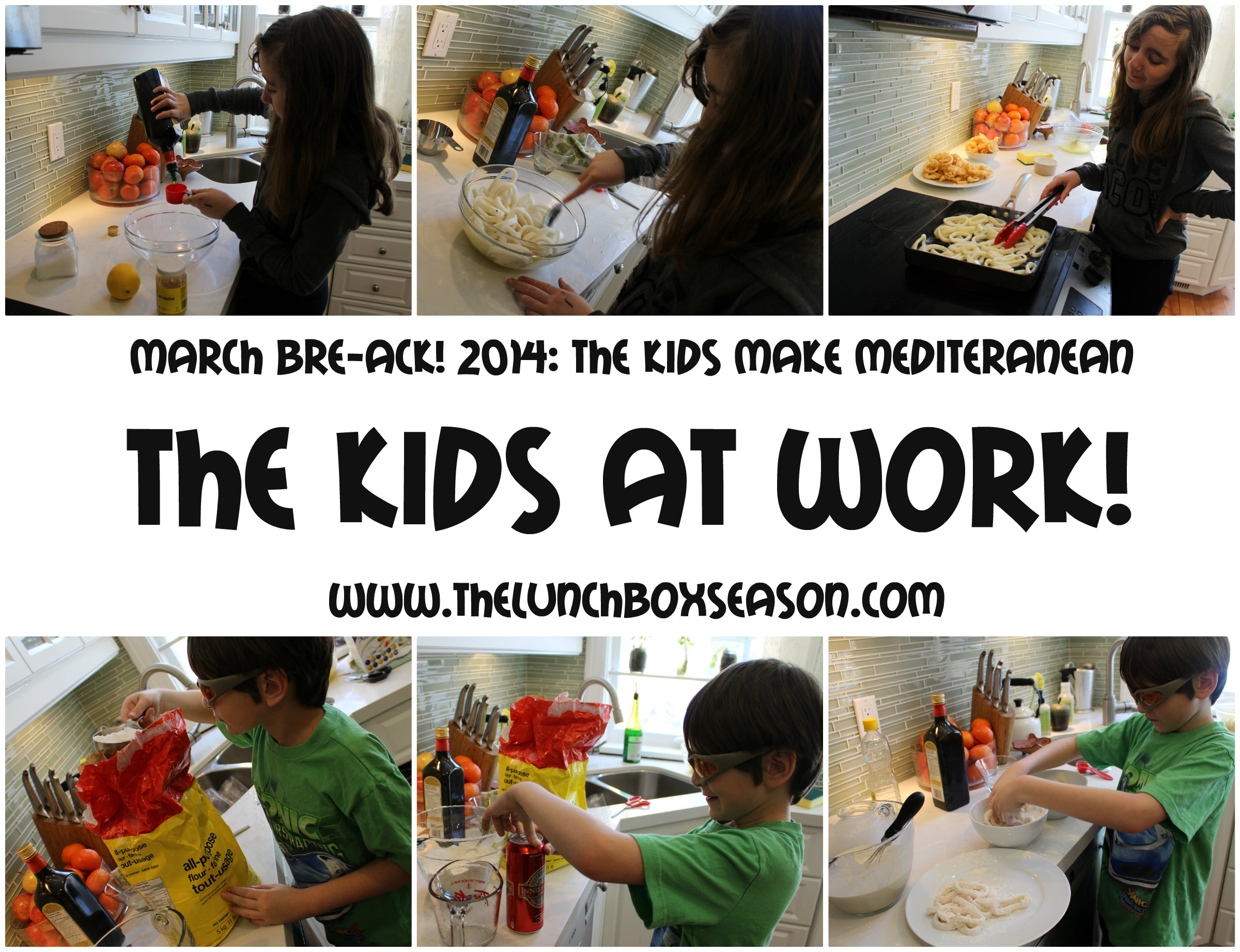 The kids at work!