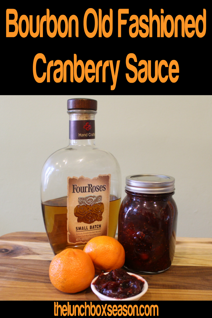 Bourbon Old Fashioned Cranberry Sauce