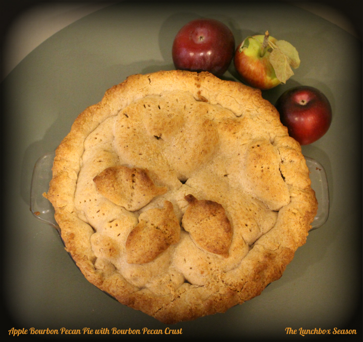 Apple Bourbon Pecan Pie
