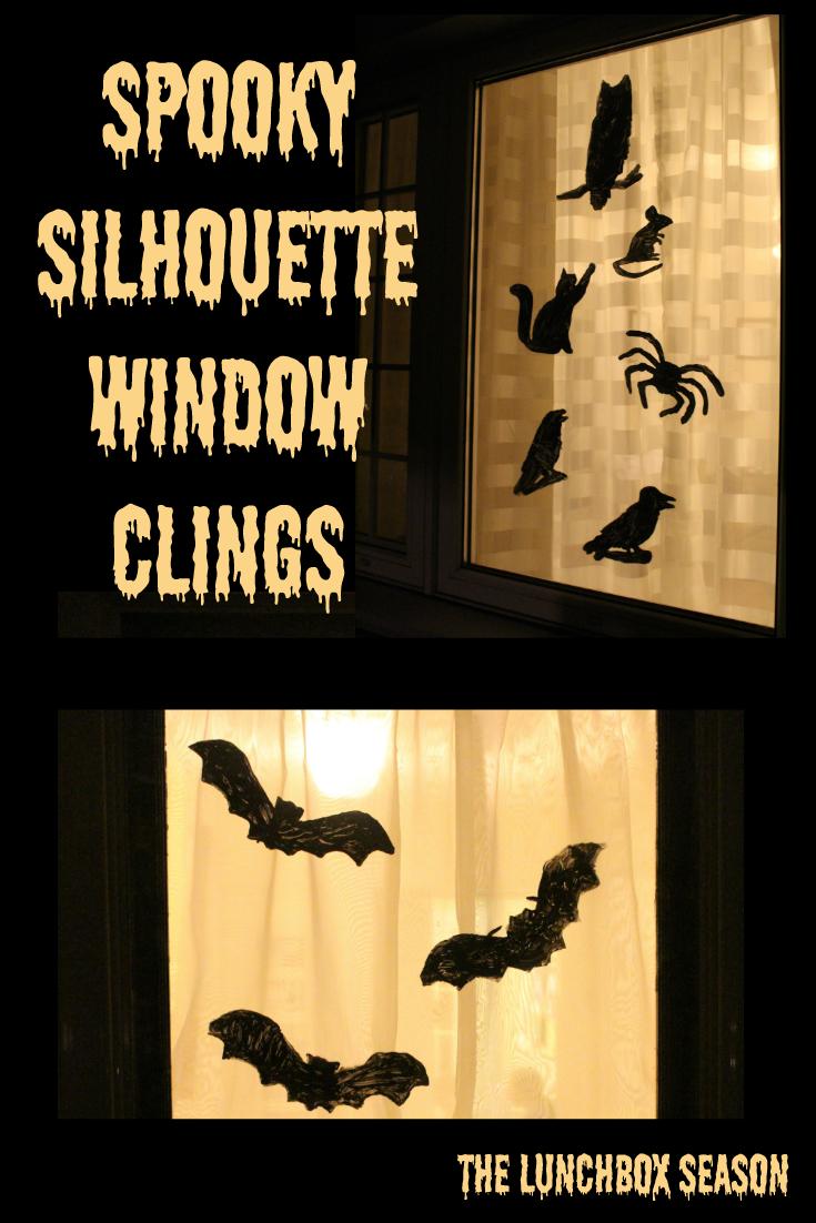 Spooky Silhouette Window Clings