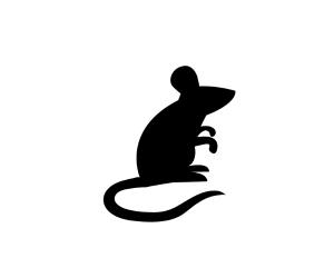 mousesilhouetteprintable
