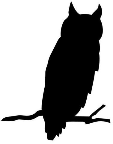 owlsilhouetteprintable
