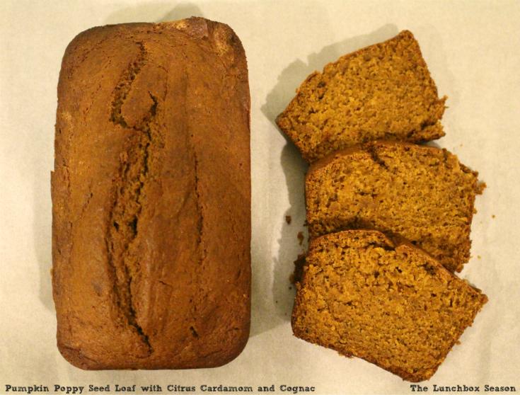 pumpkin poppy seed loaf GOTTA TRY IT!