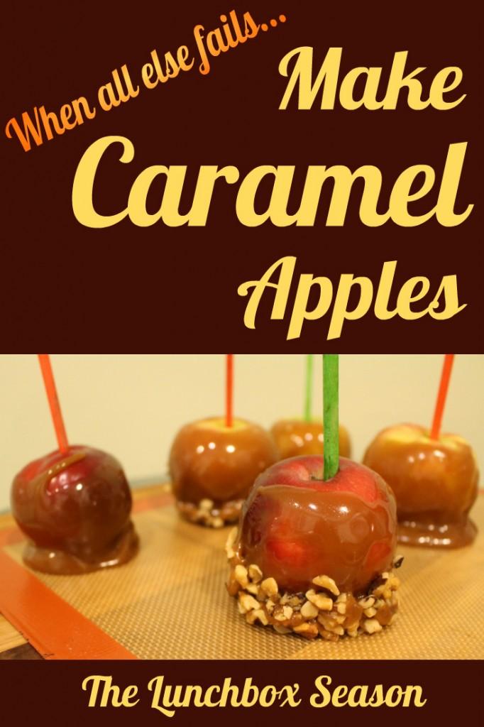 Make Caramel Apples