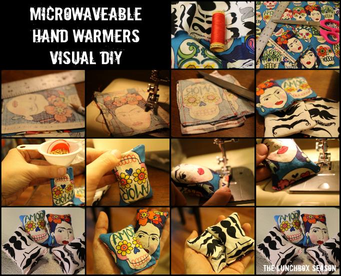 Microwaveable Hand Warmers Visual DIY