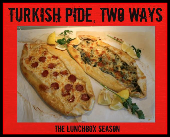 Turksish Pide Two Ways Christmas edition