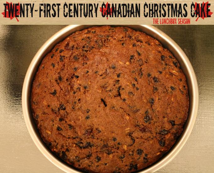 Twenty First Century Canadian Christmas Cake
