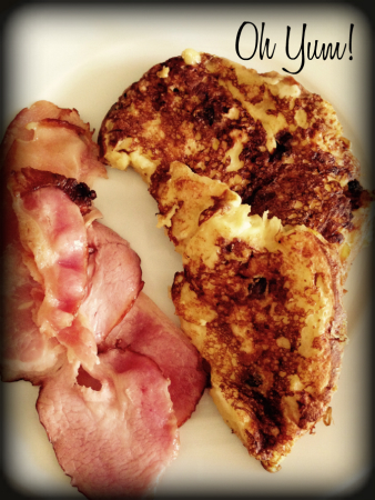 Oh Yum The Lunchbox Season's Panettone French Toast