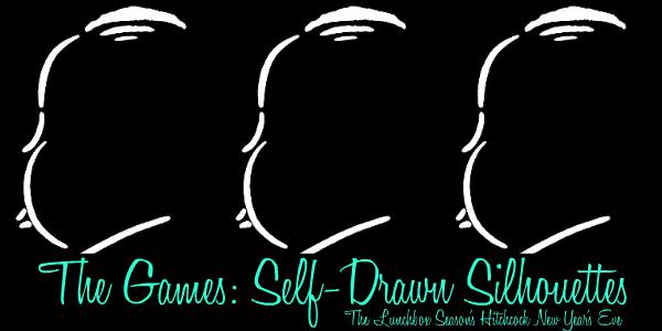 Self-Drawn Silhouettes