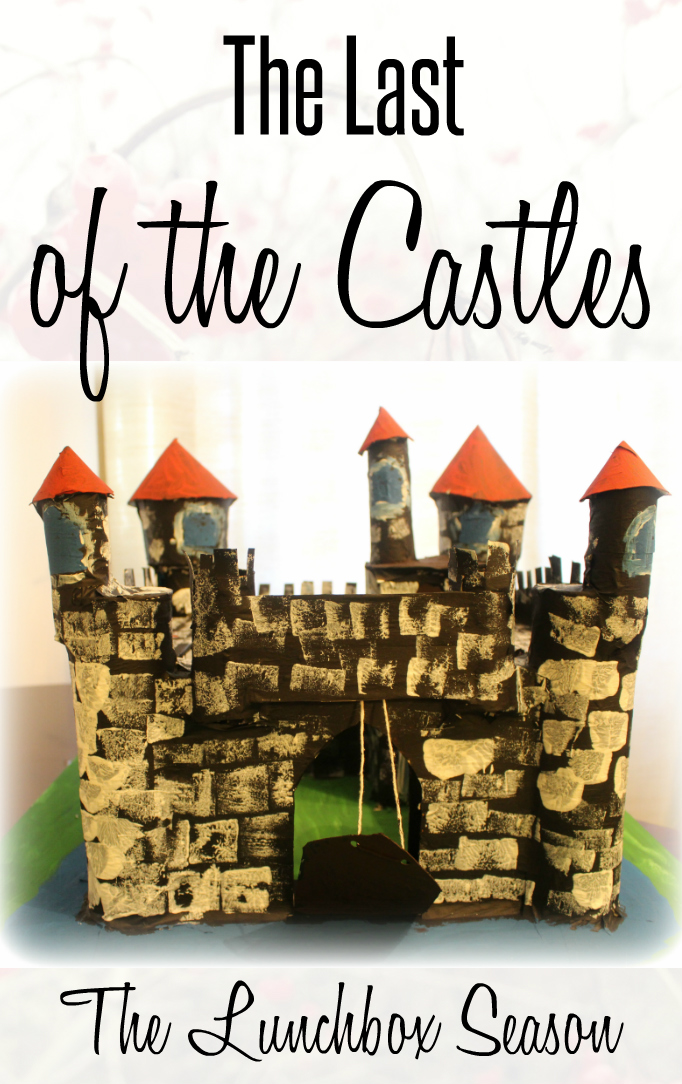 The Last of the Castles, our DIY castle