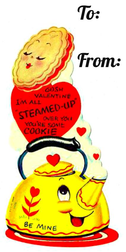 4 Cookie Tea Valentine
