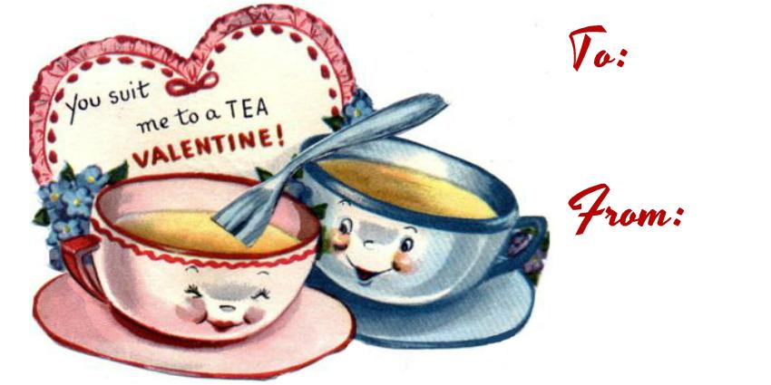 8. Tea valentine you suit me