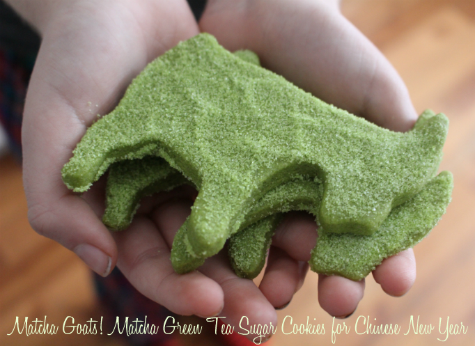 Matcha Goats ! Matcha Green Tea Sugar Cookie Recipe