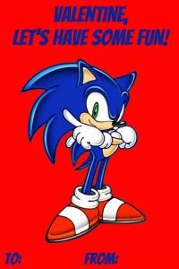 Soni Sonic Valentine