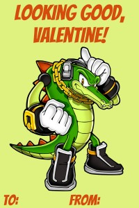 Sonic Vector Valentine