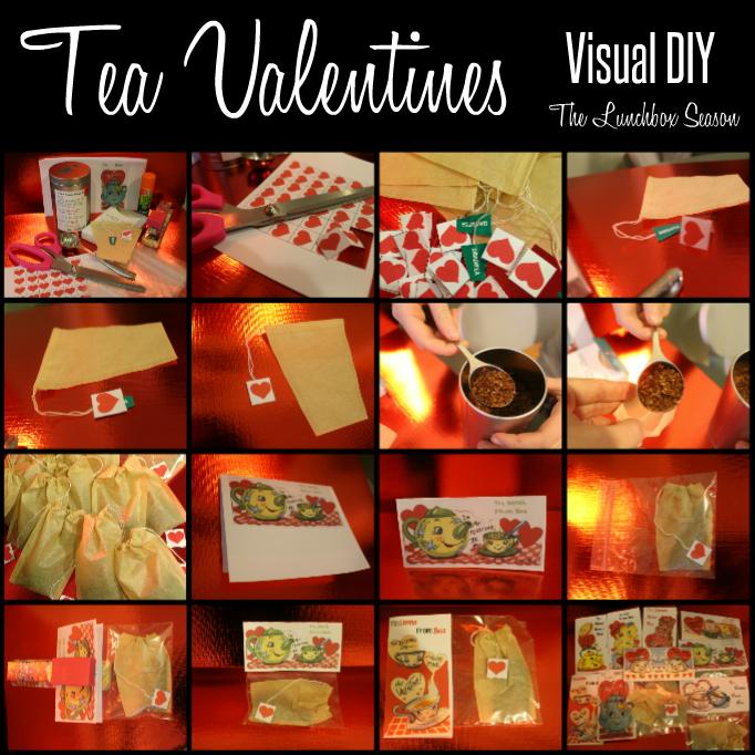 Tea Valentines Visual DIY
