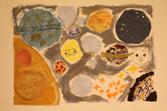Bea's Imagined Solar System