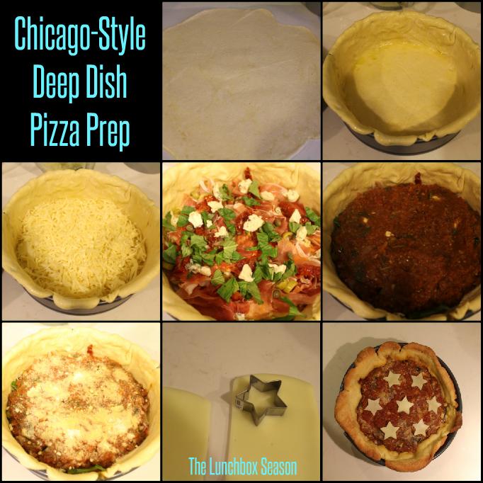 Chicago-Style Deep Dish Pizza Prep