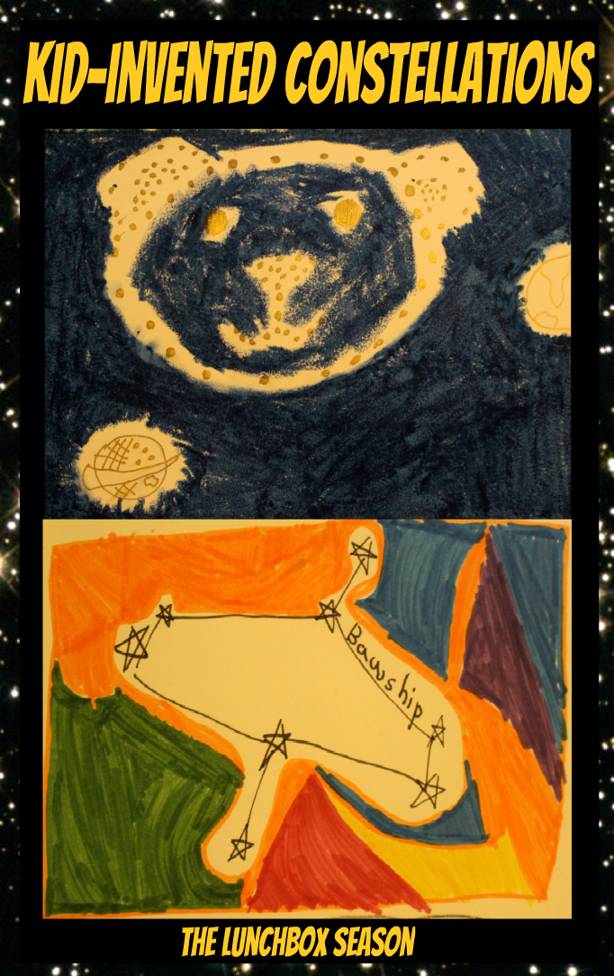 Kid-Invented Constellations - Images and Writing Prompts