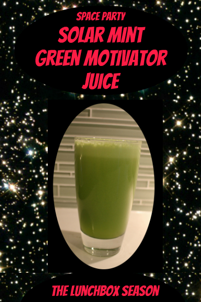 Space Party Solar Mint Green Motivator Juice
