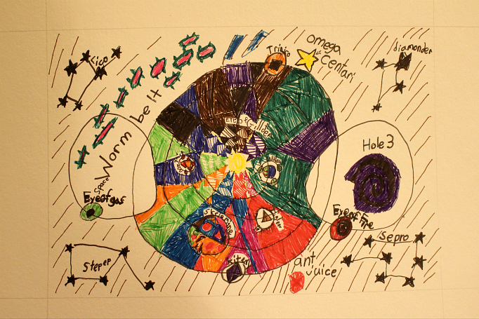 Toby's Imagined Solar System
