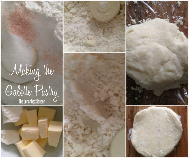 Making the Galette Pastry