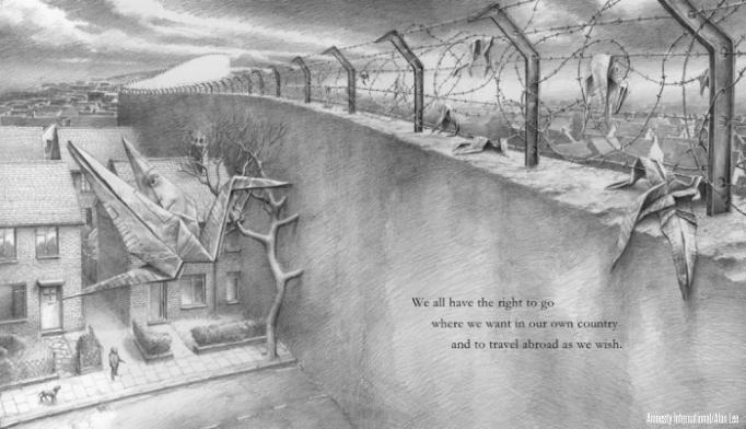 Alan Lee's Illustration for Amnesty