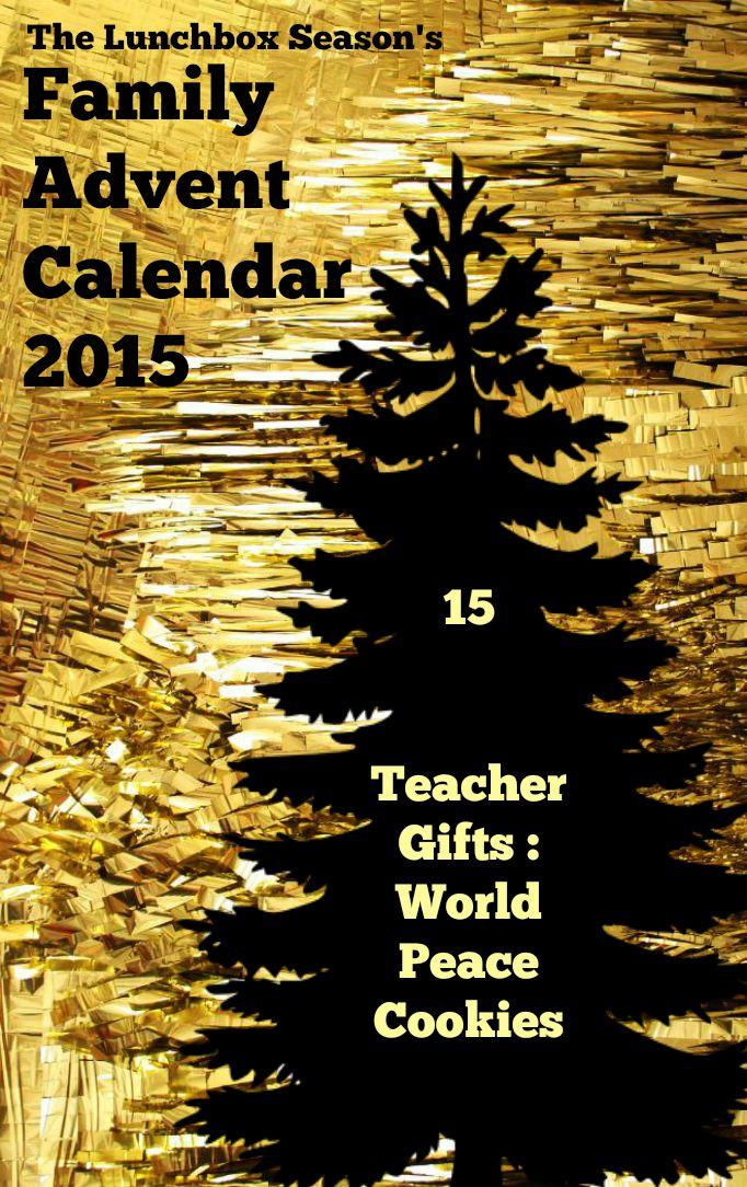 15 Teacher Gifts World Peace Cookies