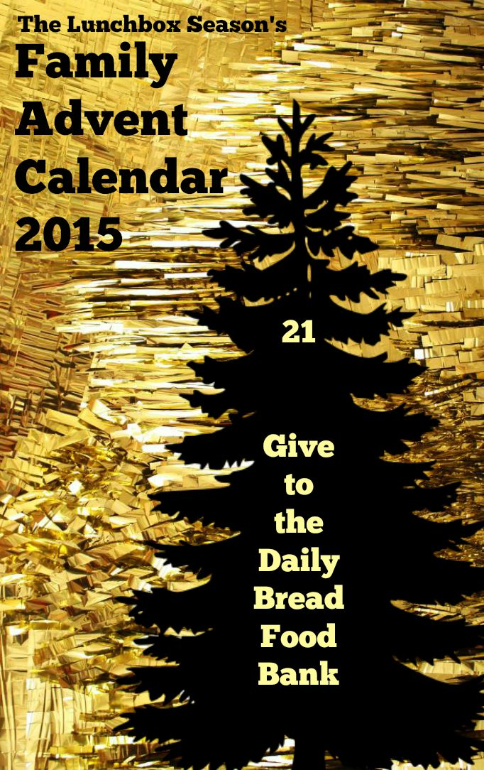21 Give to the Daily Bread Food Bank