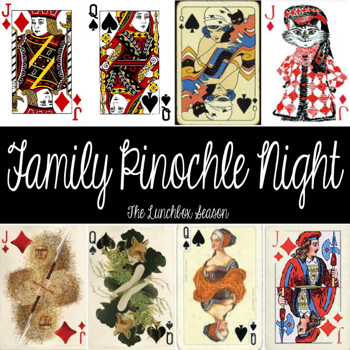 Family Pinochle Night at The Lunchbox Season
