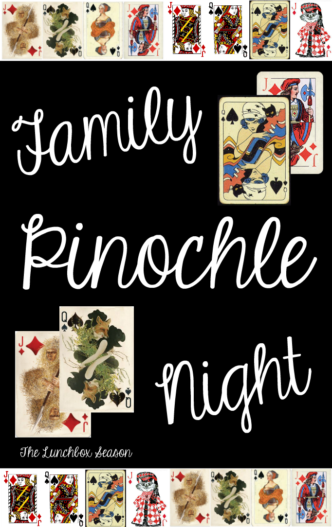 Family Pinochle Night for The Lunchbox Season