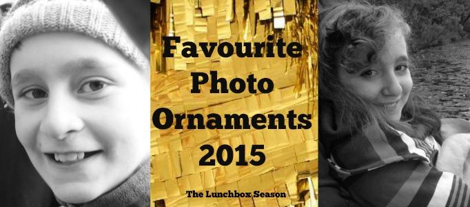Favourite Photo Ornaments 2015