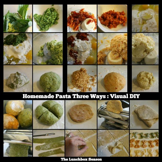 Homemade Pasta Three Ways VISUAL DIY