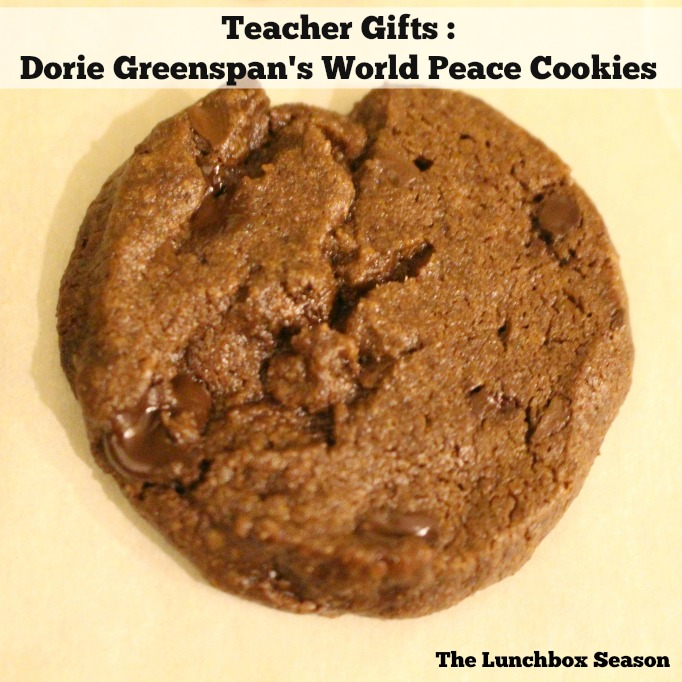 Making Dorie Greenspan's World Peace Cookies with the Kids