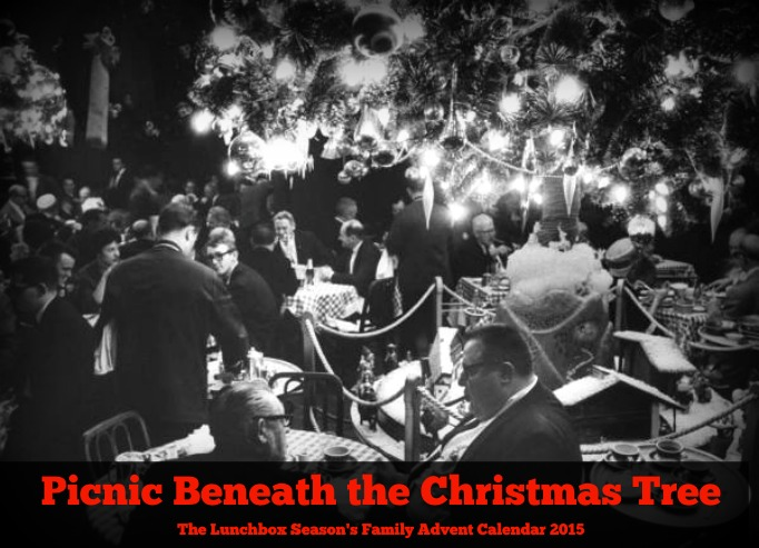 Picnic Beneath the Christmas Tree