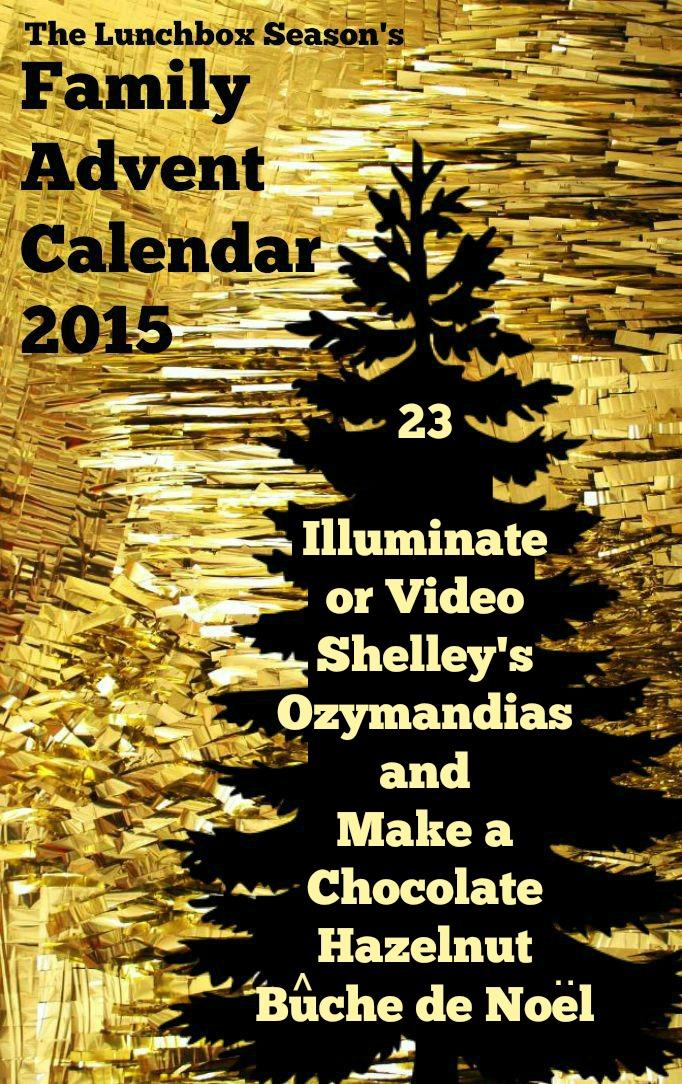 Illuminate or Video Shelley's Ozymandias