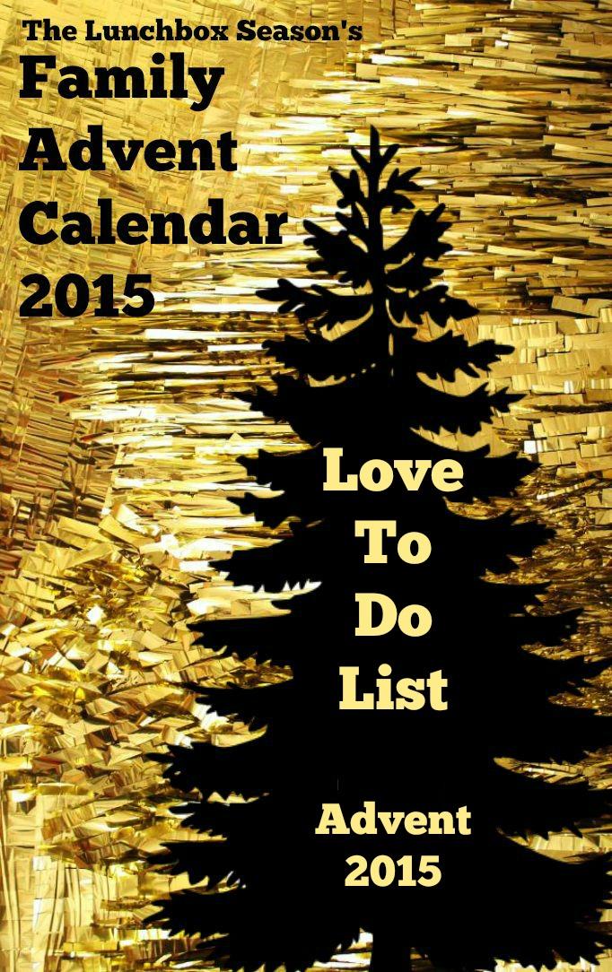 Love to Do List 2015