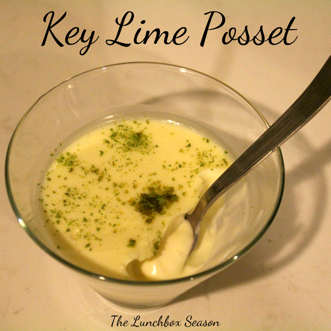 Key Lime Posset Recipe